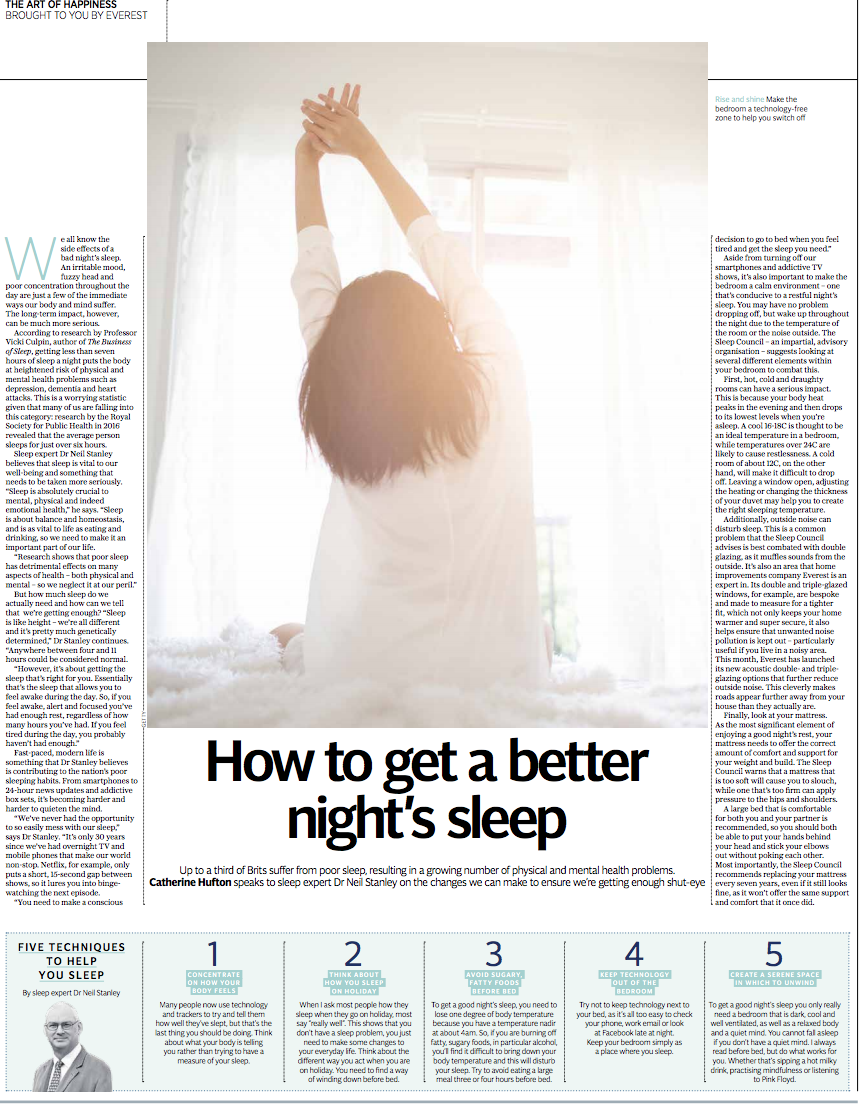 How to Get a Better Nights Sleep The Telegraph