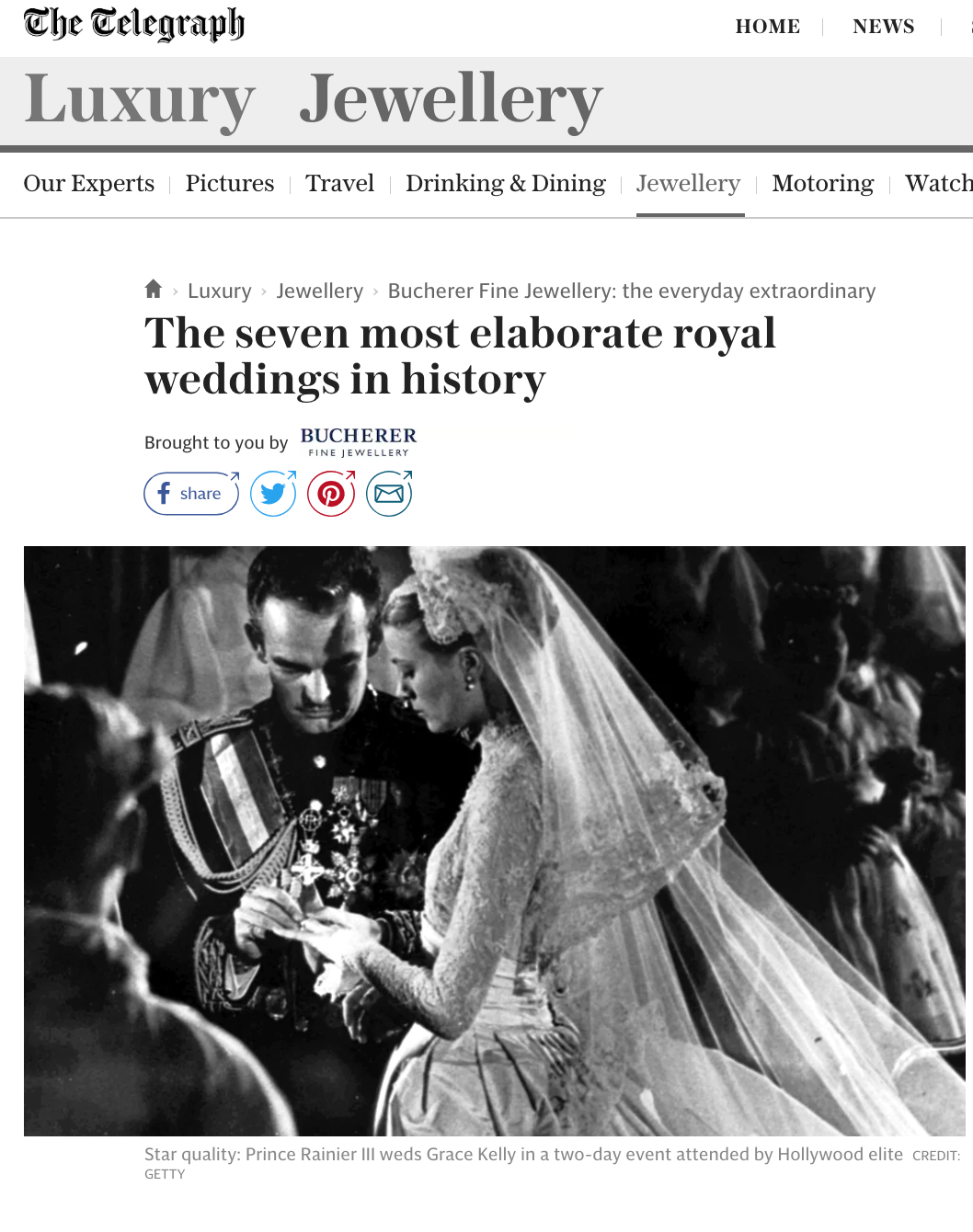 The 7 Most Elaborate Weddings in History
