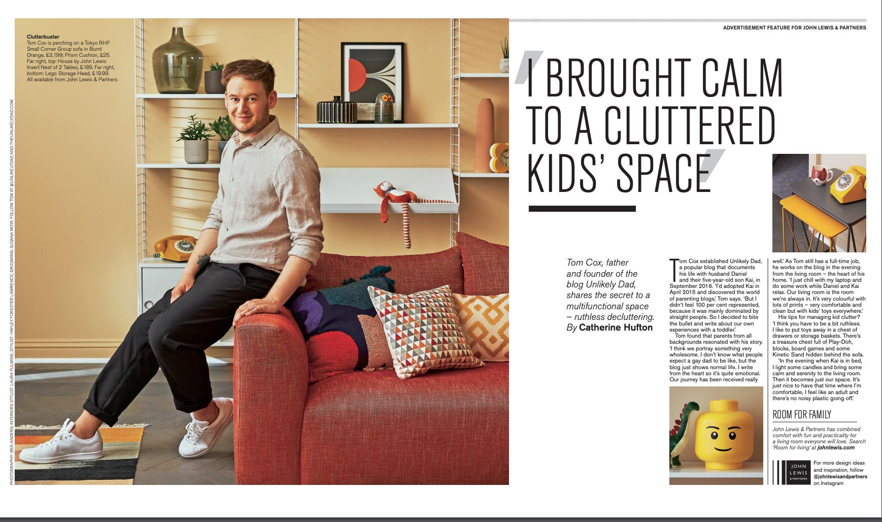 Telegraph Magazine Tom Cox Interview