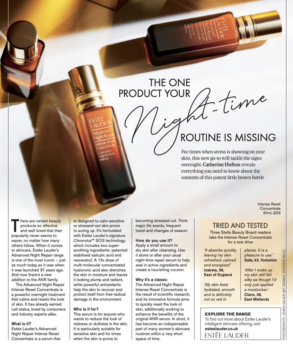The One Product Your Night Time routine is Missing Stella Telegraph