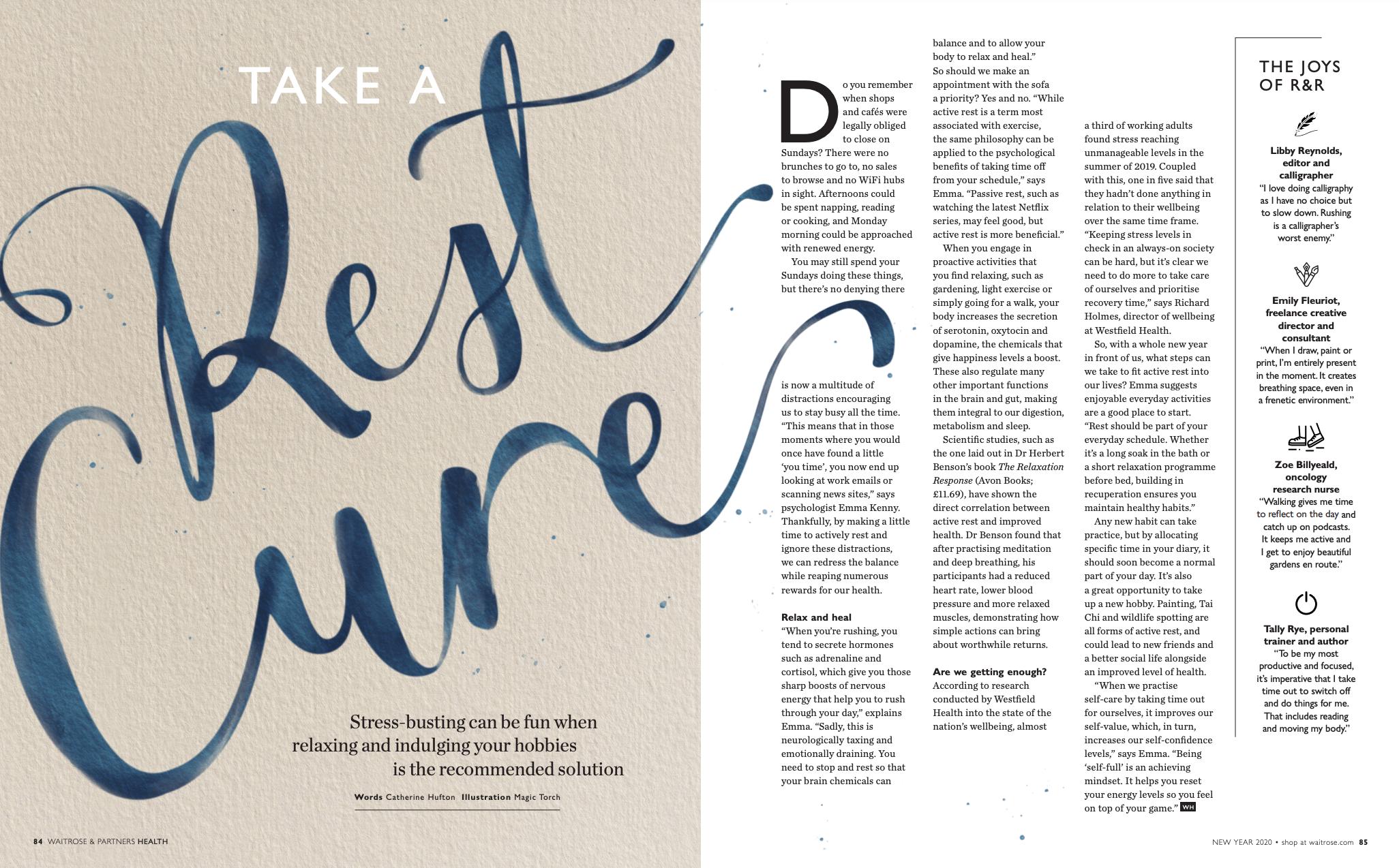 Rest Mode Waitrose Health Magazine