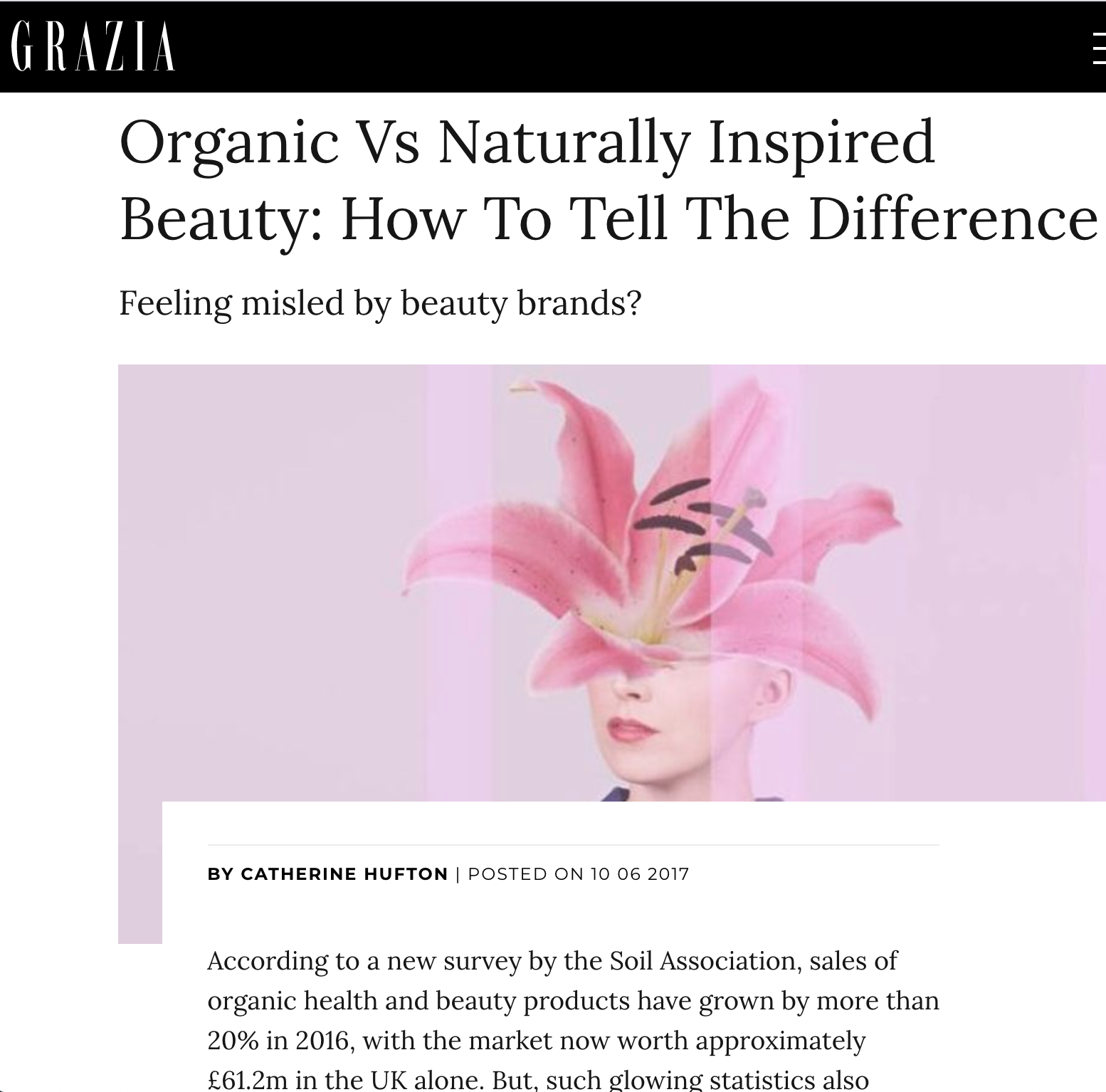 Organic Vs Naturally Inspired Beauty: How To Tell The Difference